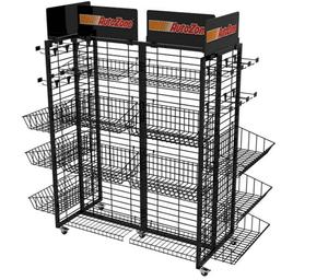 Metal Display Rack W/20 hooks