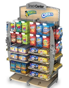 "40""W Display Rack W/7shelves&Double   Sided MD-C003"
