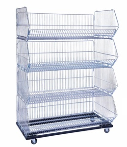 Stacking Basket W/ Four Open Bins                       MW-B010