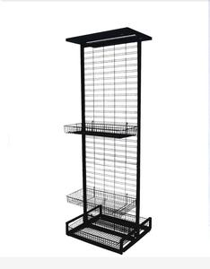 Freestanding Slat Grid Display  MW-G004