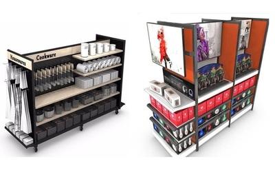 Store Shelf Rack