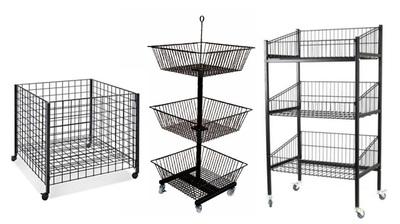 Wire Basket&Dump Bin