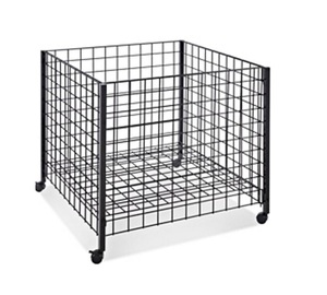 Economy Wire Dump Bin W/ Adjust Shelf  MW-B007